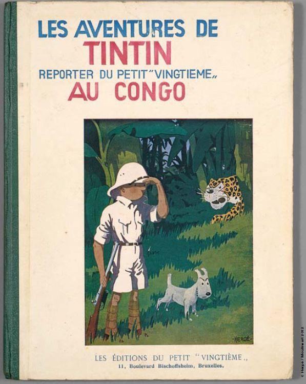 Tim und Struppi im Kongo