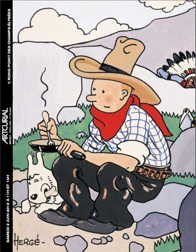 Tim und Struppi in Amerika Comic