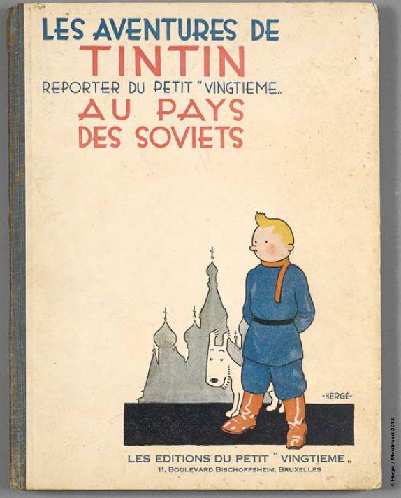 Tim und Struppi in der Sowjetunion