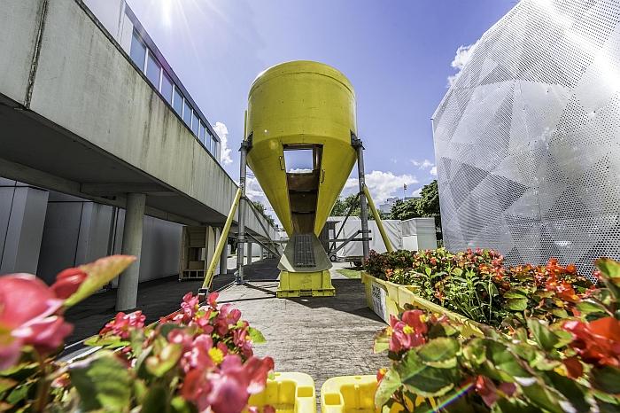 Upcycling Jan Körbes Lemon Loft Futtersilo