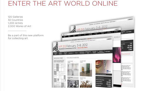 Vip Art Fair Online Kunstmesse