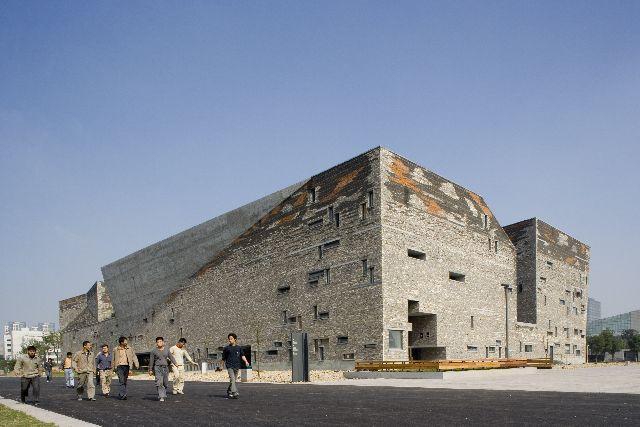 Wang Shu Ningbo Museum