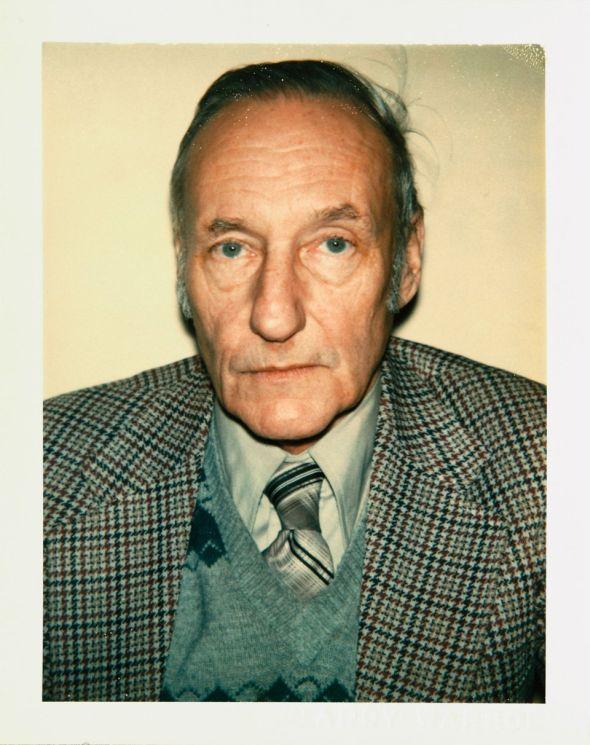 Andy Warhol Polaroids William Burroughs