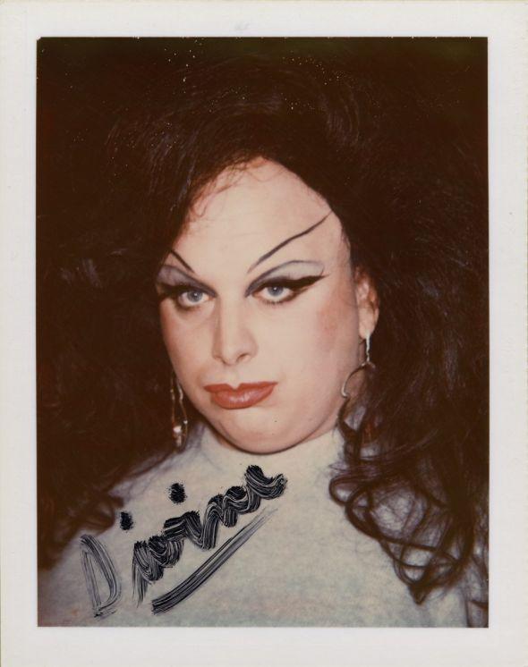 Andy Warhol Polaroids Divine