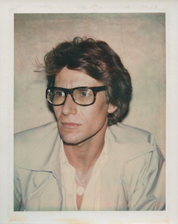 Andy Warhol Polaroids Ives Saint Laurent