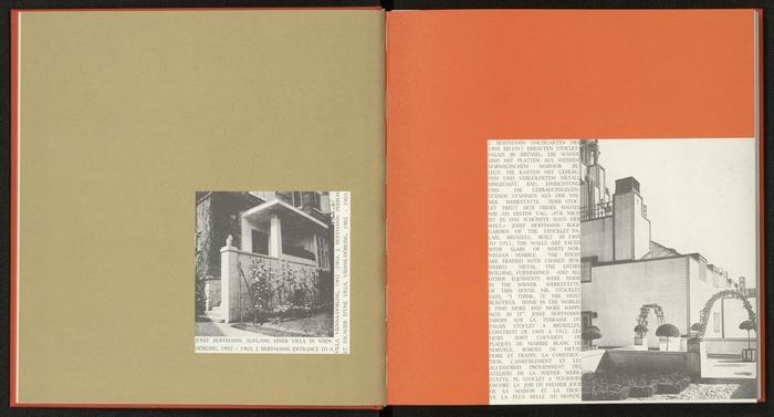 Wiener Werkstätte Festschrift Original Buchgestaltung