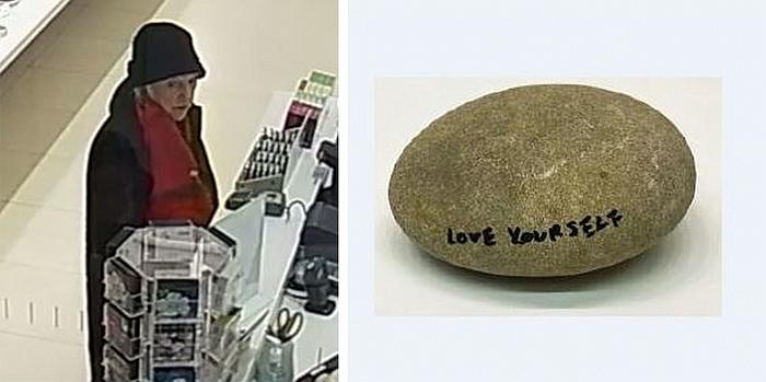 Yoko Ono Stone Piece