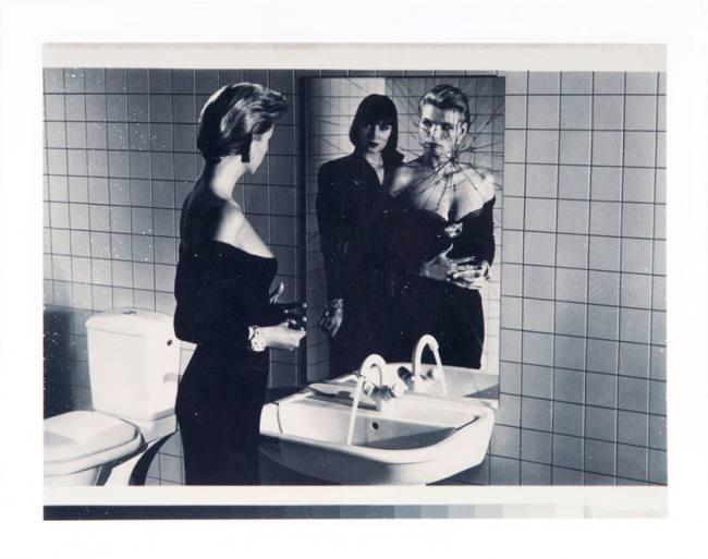 Helmut Newton Frauen vor dem Spiegel