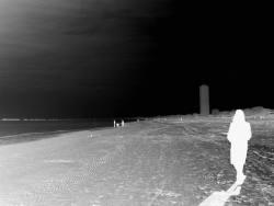 Fotografie Marc Peschke La donna della spiaggia  ...
