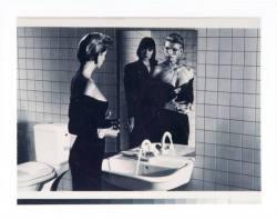 Helmut Newton Frauen vor dem Spiegel Photographie