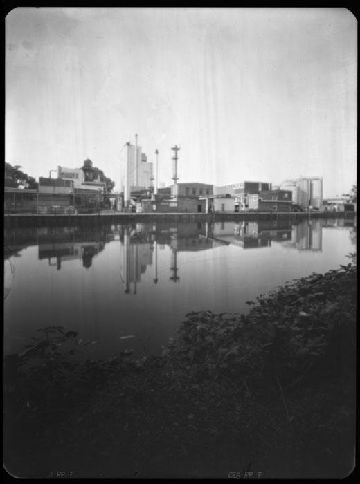 Wilhelmsburg in der Keksdose -  Camera Obscura Aufnahmen der Elbinsel