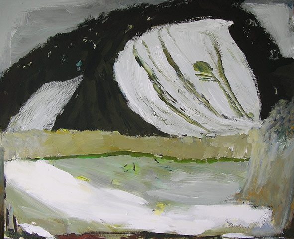 "THOMAS ZIEGLER ""Winterblider"" - Malerei"