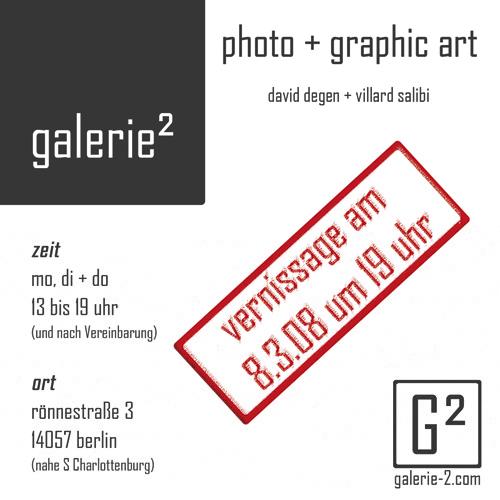 Eröffnung Galerie² mit Vernissage