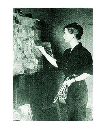 Ausstellung Berlin H�l�ne de Beauvoir - die Malerin