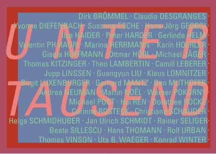 unter tausend Ausstellung Wiesbaden