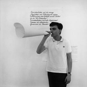 """Marcel Odenbach – """"Das im Entwischen Erwischte"""". Pläne 1975-1983. Video-Installationen. Neue Zeichnu"""