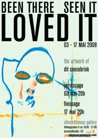 |Vernissage| Been there. Seen it. Loved it.|03. Mai | allmostfamous gallery