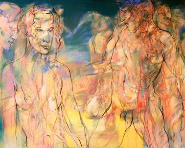 HENRI DEPARADE Malerei Ausstellung Berlin