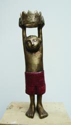 """""""Von Kopf bis Fuß"""", Skulptur"""