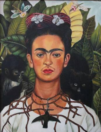 """Frida Kahlo Ausstellung: """"Ein Band um eine Bombe"""" Auktion Baden_Baden"""
