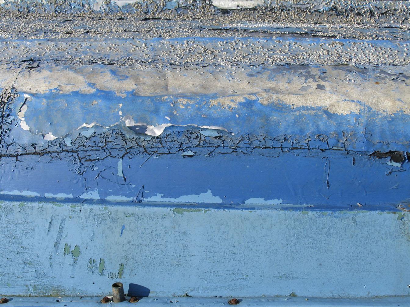 Realität in die Abstrakte. Malerei, Foto, Objekte