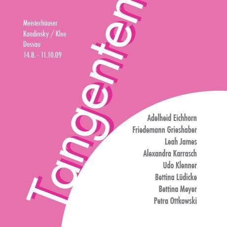 TANGENTEN - Meisterhaus Kandinsky / Klee – Dessau Ausstellung Leipzig