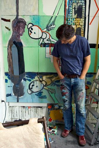 """""""Der Bär ist los!"""" Sebastian Bieniek Einzelausstellung mit Gemälden"""