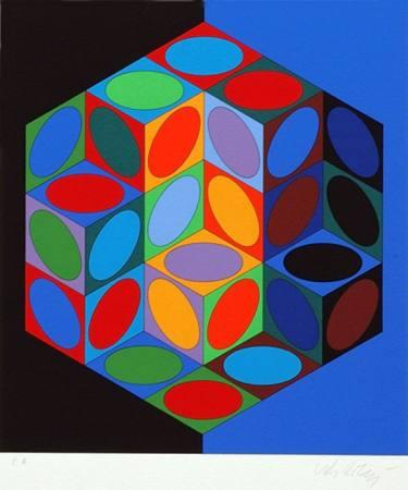 Victor Vasarely im Mathematikum Gießen Ausstellung Gießen