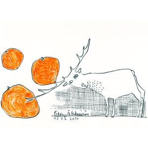 Unter dem Orangenbaum