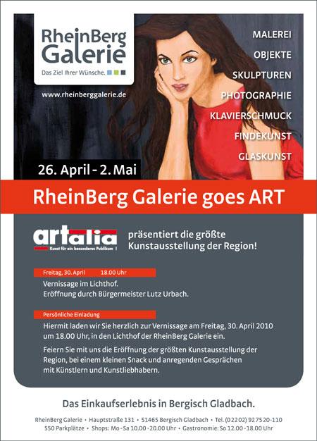 RheinBerg Galerie goes ART
