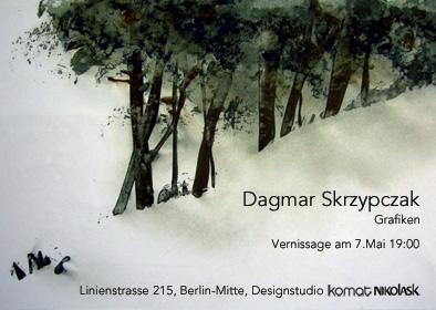Grafiken und Radierung Dagmar Skrzypczak