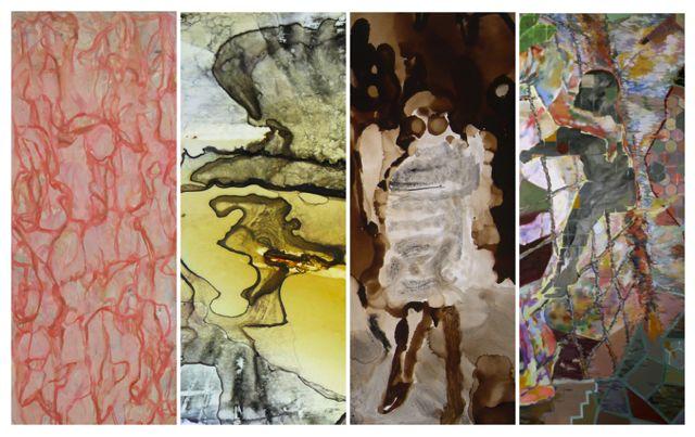 Mit chinesischer Methode die westliche Kunst umpflügen - Künstler der Galerie Ling stellen aus