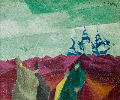 Lyonel Feininger - Schiffe und Meer