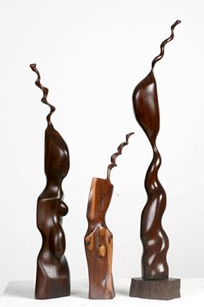 Flame of Africa - Holzskulpturen