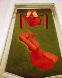 Maria Lassnig - Regina Götz ICH und ICH Ausstellung Potsdam