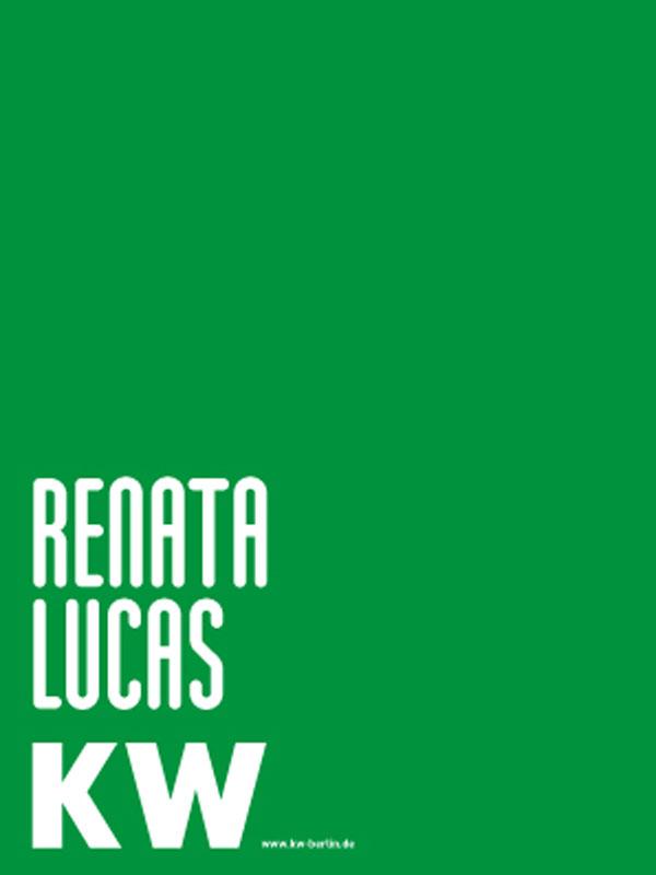 Renata Lucas - Kunstpreis der Schering Stiftung