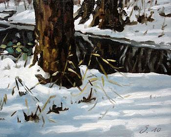 Tage im Winter - Winterstücke und melancholische Landschaften