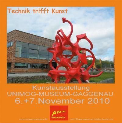 Unimog im Weltall / Kunst trifft Technik Ausstellung Baden_Baden