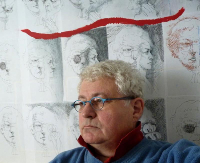 """Finissage Ausstellung """"Coenegracht träumt Cranach und Dürer"""" in der Galerie-Graf-Adolf am 02.04.2011"""