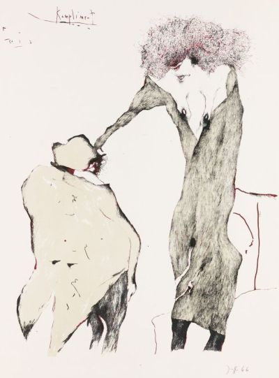 Horst Janssen Ausstellung Berlin - Ketterer
