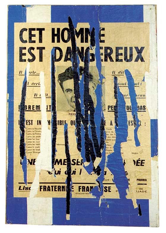 François Dufrêne  Raymond Hains: Une amitié entre l'art et les mots