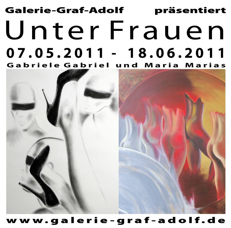 "Finissage ""Unter Frauen"" in der Galerie-Graf-Adolf  am 18.06.2011"