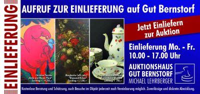 5. Kunst und Antiquitätenauktion auf Gut Bernstorf Auktion Kranzberg