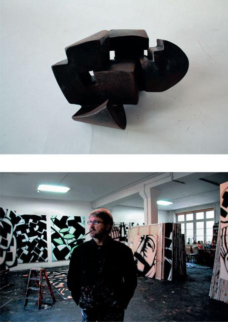 Hans-Hendrik Grimmling, Malerei - Jörg Bach, Skulptur