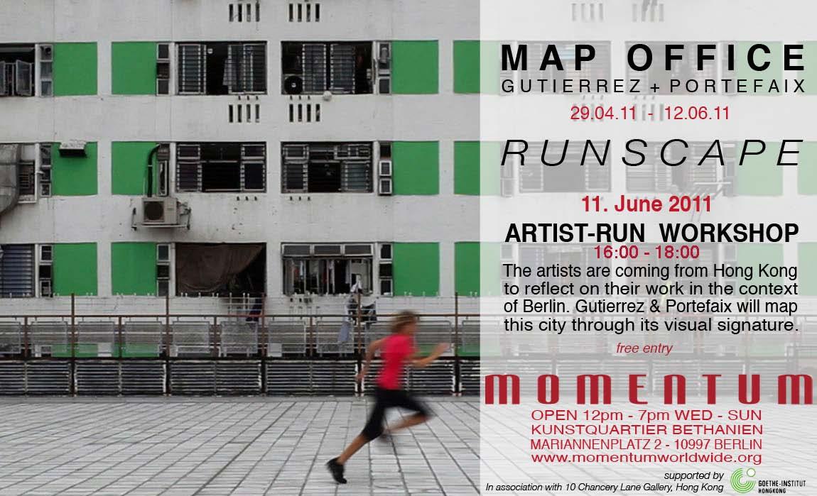 Runscape Berlin - An Artist-run Workshop with Map Office