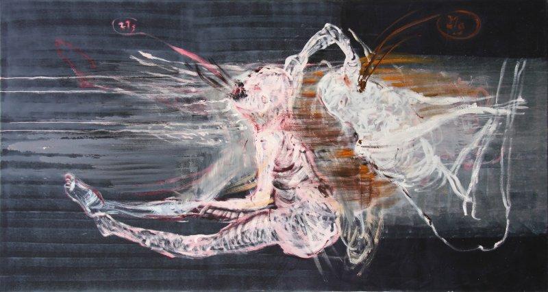 Liebe Tod Wetter - Malerei