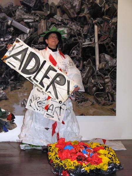 """Wall&Street&Trash&Art"" Der ultimative persönliche Protest - ich bin dagegen!"