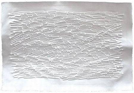 "Günther Uecker ""Landschaft 2011"""