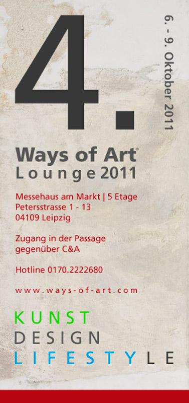 4. Ways of Art® Lounge 2011