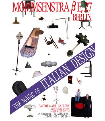 MOMMSENSTAßE, 27, BERLIN: THE MAGIC OF ITALIAN DESIGN